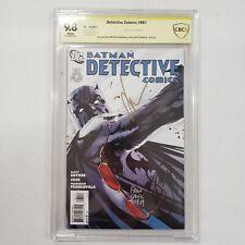 Detective Comics #881 CBCS NOT CGC 9.8 SS 3x Signed Jock, Snyder & Francavilla