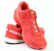 Salomon S Lab City Trail Mens 9 Womens 10 Bright Red Sample Running Shoes 643001