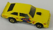 HOT WHEELS FLATOUT # 442 vintage 1978 , yellow Cutlass diecast 1/64, Hong Kong