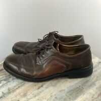 Josef Seibel Mens Brown Leather Lace Up Casual Oxford Shoes Size 44 US 10 - 10.5