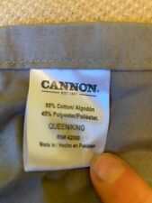 Euc Cannon Adjustable Bedskirt Bed Skirt Queen/King - Gray