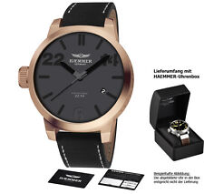 HAEMMER HQ-03 MONACO LIMITED Edition 22.14 XXL Herrenuhr Damenuhr Ladies Men