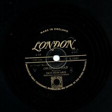 RARE GOLD LONDON 78 DON HOWARD - OH HAPPY DAY / YOU WENT AWAY  LONDON L 1163 E-