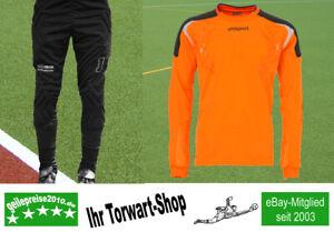 Torwart-Set Alpas Torwarthose + Uhlsport Torwarttrikot TorwartTech orange XL