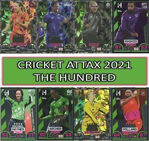 Topps CRICKET ATTAX  - THE HUNDRED - 100 Club, England Stars & Match Winners