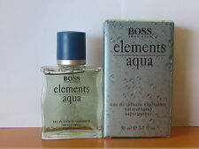 ~ elements aqua ~ by hugo boss pafüm herren 1.7 oz eau de toilette spray neu in verpackung selten