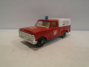 Matchbox No.6 Ford Pickup Fire Chief - Vintage 1968 Lesney