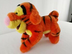 Disney Tigger Plush Soft Toy 37cm x 24cm Very Curly Tail Fluffy Winnie the Pooh
