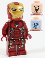 LEGO AVENGERS ENDGAME IRON MAN MK50 ARMOR MINIFIGURE 76125 - MARVEL SUPERHEROES