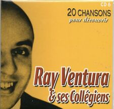 CD CART  20 CHANSONS POUR DECOUVRIR RAY VENTURA   DE 2001 NEUF NON SCELLE