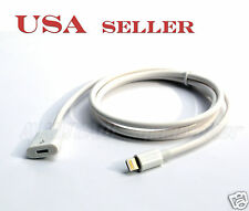 8Pin Lightning Extension Cable for iPod iPhone6 6S iPhone5 iPad4 Mini white