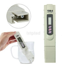 Portable Pen Type Digital LCD PH Meter TDS TEMP PPM Water Purity Monitor Tester~