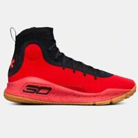 New Under Armour Men's UA Curry 4 Basketball Shoes Sneakers - Red(1298306-603)
