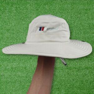 Berghaus Cream Goretex Bucket Hat / Boonie / Safari Brim Hat S / M - BRAND NEW