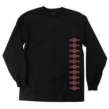 Independent Trucks Ogbc Vertical Long Sleeve Skateboard Shirt Black Xxl