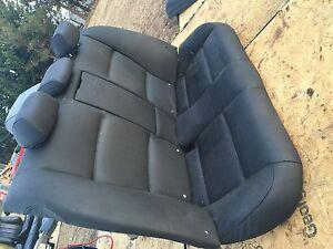 BMW E90 sedan leather seat 335d 328ix 335 330 320i 325i 328i 330i 335i 328 BLK