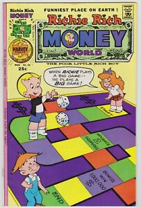 Richie Rich Money World #22 - Harvey File Copy Comic! 1976 VFNM