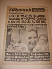 NATIONAL ENQUIRER Magazine, JULY 20, 1969, IDA LUPINO, MARLON BRANDO ARTICLE!