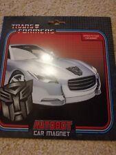 Transformers Autobot Imán De Coche Nuevo y Sellado