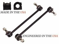 4PC STABILIZER BAR LINKS BUSHINGS FRONT R&L 2013-15 HONDA ACCORD 2.4L COUPE