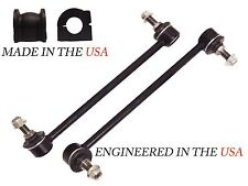 4PC STABILIZER BAR LINKS BUSHINGS FRONT R&L 2013-15 HONDA ACCORD 2.4L SEDAN