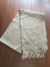 Polo Ralph Lauren Soft Olive/Green Scarf NWT Virgin Wool MSRP $58