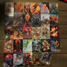 Marvel Masterpieces Comic Trading Cards 1993 Lot of 29 Sky Box