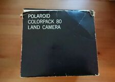 Vintage Polaroid Land Camera Colorpack 80 - Includes Original Box and Manuals
