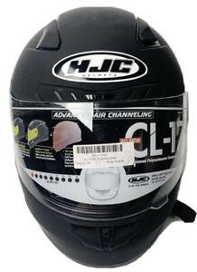 HJC i70 Semi Flat Black Motorcycle Helmet Size XS New Without Box | Extra Small