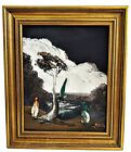 HOMER COSTELLO Original~Impressionist Mid Century Seaside ~Oil Painting~Signed