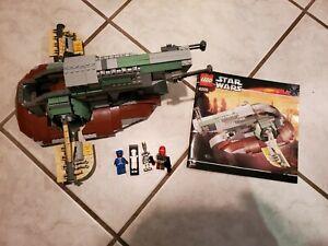 BOBA FETT SHIP SLAVE I, Lego Star Wars 6209. No Boba Fett or Dome- read details!