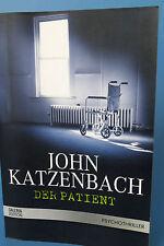 der patient,john katzenbach,buch,bücher,thriller,psychothriller,2002,
