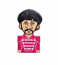 The Beatles Sgt Pepper Cartoon Style Ringo Starr Fridge Magnet Gift Souvenir