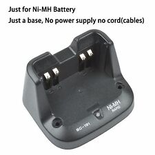 Base no power supply for ICOM IC-V80 Walkie Talkie Ni-MH Battery Charger