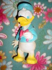 "Vtg-8""-Dell Walt Disney Donald Duck Vinyl Squeaker Squeak Squeaky Toy Doll"