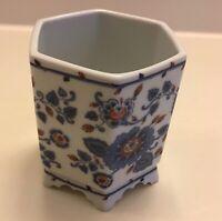 Vintage 1979 Estee Lauder Porcelain Vanity Makeup Holder Or Vase