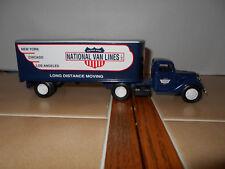 Ertl die-cast National Van Lines 1:43 scale 1937 Ford T/T,NIB,stock # B284