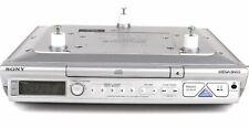 New listing Sony #Icf-Cd543Rm Mega Bass Under Cabinet Cd Player Am/Fm Kitchen Clock Radio