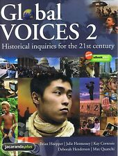 NEW - GLOBAL VOICES 2 Historical Inquiries For 21st Century FREE EXPRESS Hoepper