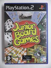 COMPLET jeu JUNIOR BOARD GAMES playstation 2 PS2 en francais juego gioco spiel