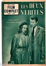 LOT de 3 LE FILM COMPLET n°317-349-350 ¤ LES DEUX VERITES /ADIEU PARIS/ CLOCHARD