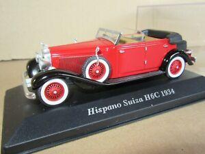 762P IXO 2 China Hispano Suiza H6C 1934 France 1:43 +Box