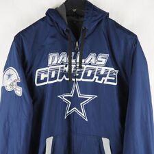 Dallas Cowboys Reversible Full Zip Hooded Jacket   Large