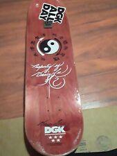 Dgk Bruce Lee Skateboard Deck Golden Dragon Holographic
