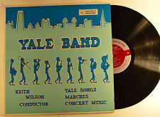 yale band lp yale songs/marches/concert music    vg++/vg++