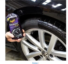Tire Gel Wheel cover Shine polish Clean Car Care Automotive Endurance Meguiar's