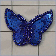 Sequin Beaded Butterfly Applique 0410-T1