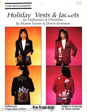 Finish Line Holiday Vests & Jackets for Christmas Great for Ugly Contests
