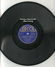 """WOODY HERMAN """"You Can't Hold a Memory in Your Arms / Fooled"""" DECCA 78RPM"""