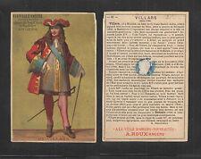 1880s (61) VILLARS A LA VILLE D'ANGERS NOUVEAUTES FRENCH VICTORIAN TRADE CARD